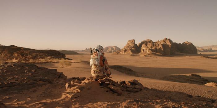 Film Marsjanin krajobraz Marsa