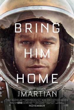plakat do filmu Marsjanin - The Martian poster