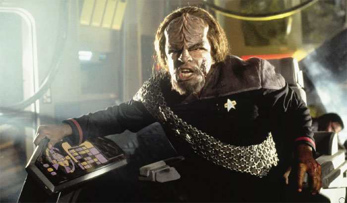 Worf ST Deep Space Nine (DS9)