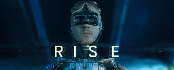 Rise David Karlak short SF poster