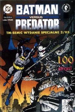 Batman vs Predator komiks