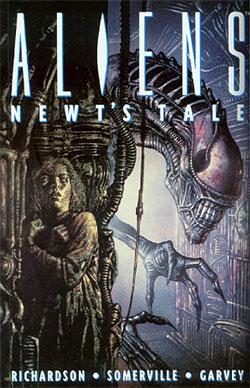 Comics Alien Newts Tale Cover